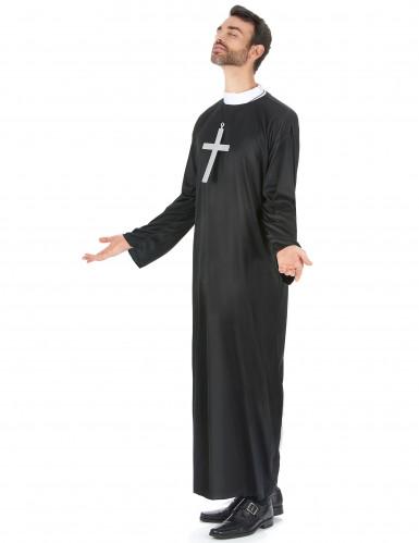 Nonnen und Priester-Paarkostüm für Erwachsene-1
