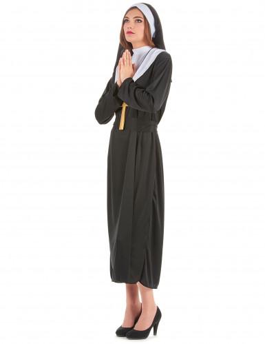 Nonnen und Priester-Paarkostüm für Erwachsene-2