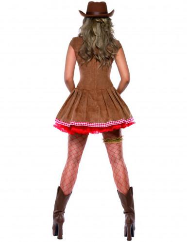 Sexy Cowgirl-Kostüm für Damen-1
