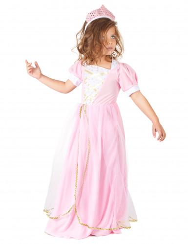 Prinzessinnenkostüm rosa für Mädchen-1
