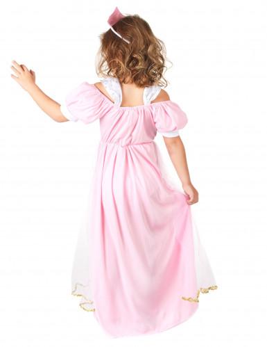 Prinzessinnenkostüm rosa für Mädchen-2