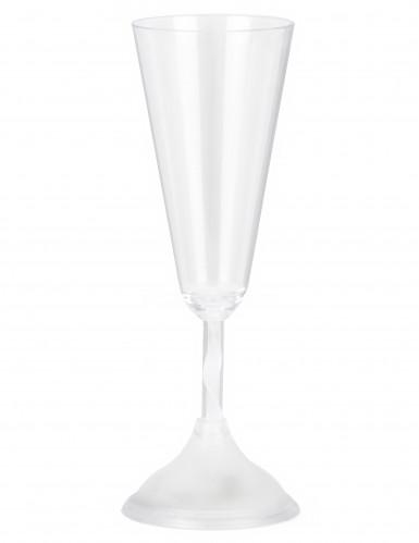 Sektglas leuchtend