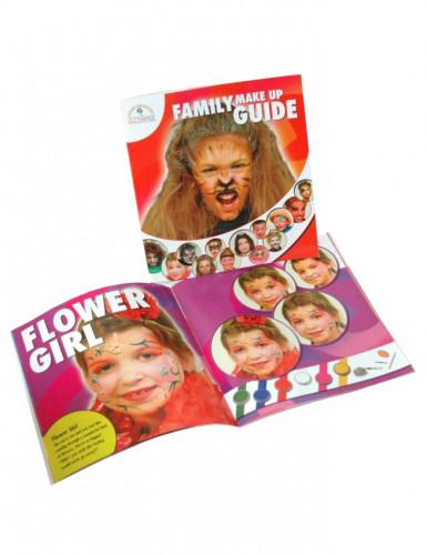 Buch mit Make-up Vorschlägen.