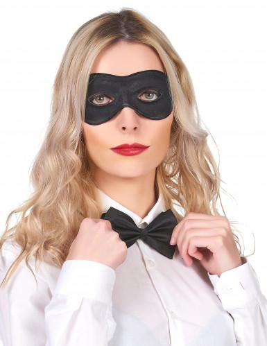 Augen-Maske schwarz