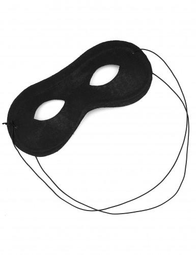 Augen-Maske schwarz-1