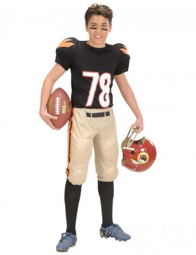 American Football-Spieler Kostüm für Jungen