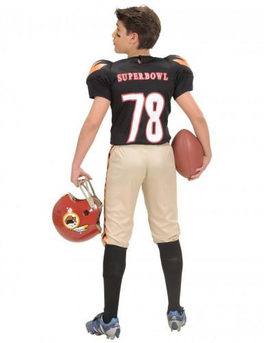 American Football-Spieler Kostüm für Jungen-1