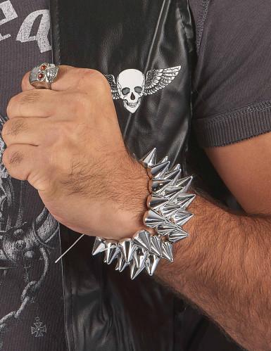 Toten-Kopf Ring für Herren-1