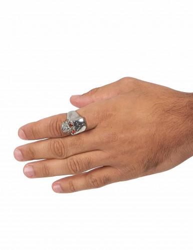 Toten-Kopf Ring für Herren-2