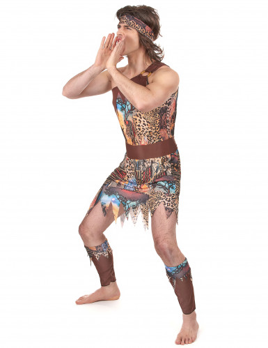 Kostüm Dschungelkönig für Herren-1