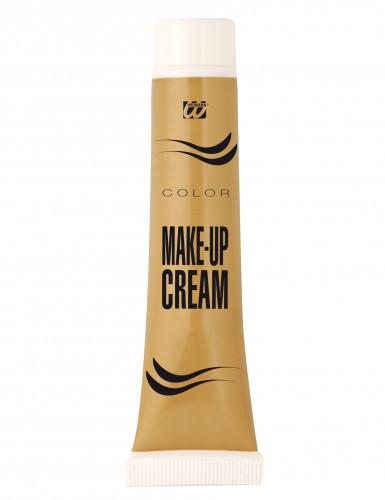 Goldfarbene Make-up Creme-1