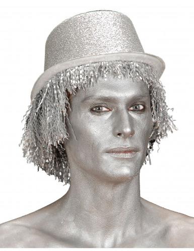 Silberne Make-up Creme