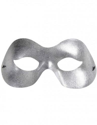 Silberne Halbmaske-1