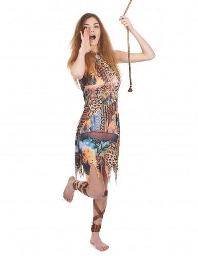 Kostüm Dschungelkönigin für Damen