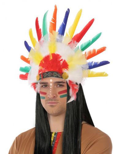 Indianer-Haube für Erwachsene