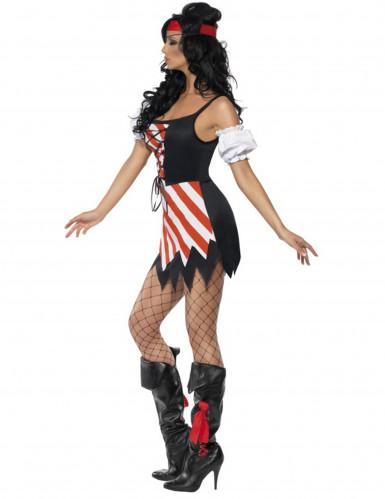 Piratenkostüm für Damen.-1