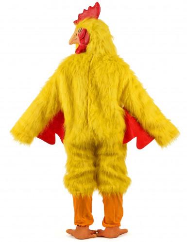 Hühner-Kostüm gelb für Erwachsene-2