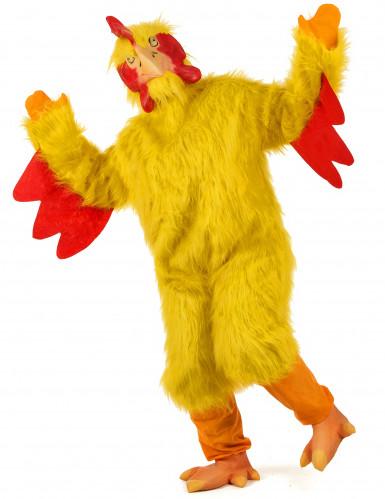 Hühner-Kostüm gelb für Erwachsene-1