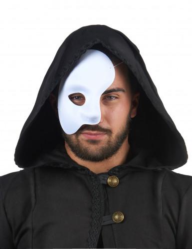 Halbmaske für Erwachsene weiß