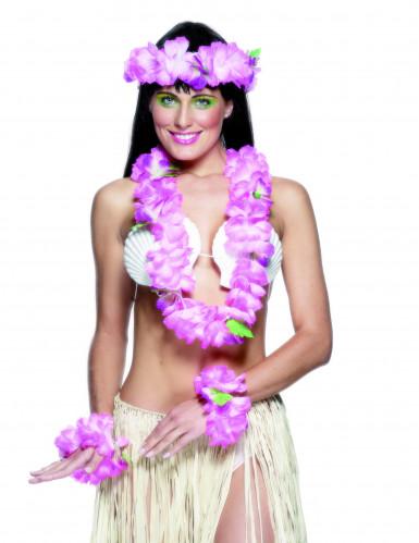 Set Hawaii rosa für Damen