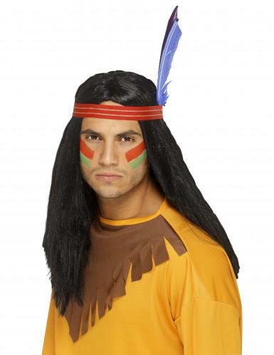 Indianerperücke für Herren
