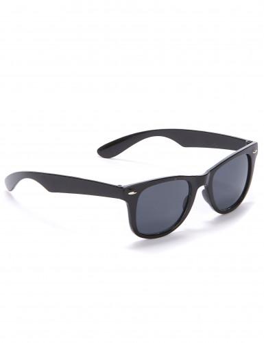 Schwarze Bluesbrother Sonnenbrille