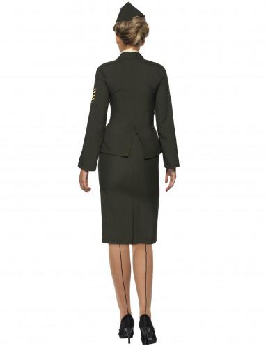 Militärisches Offiziers-Kostüm für Damen-2