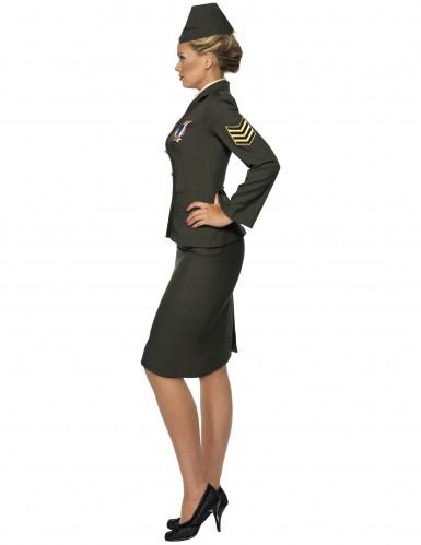 Militärisches Offiziers-Kostüm für Damen-1