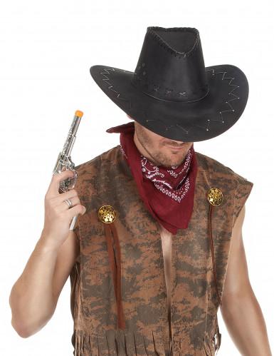 Rotes Bandana-Tuch für Cowboy-Kostüme-1