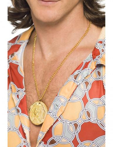 Fünf Cent-Kette gold