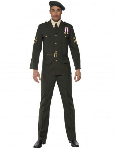 Militär Offiziers-Kostüm für Herren