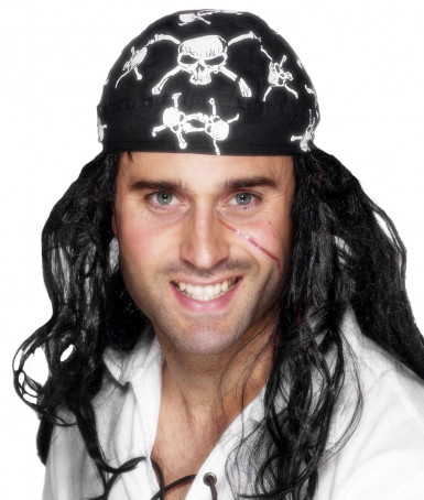 Bandana-Tuch Pirat