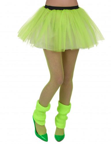 Grünes Ballettröckchen für Damen