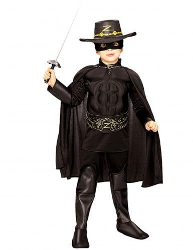 muskulöses Zorro™ -Kostüm für Jungen