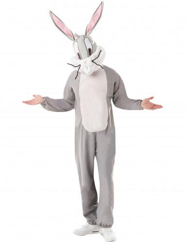 Loones Tunes™-Bugs Bunny-Kostüm für Erwachsene grau-weiss-1