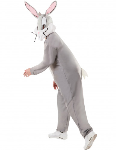 Loones Tunes™-Bugs Bunny-Kostüm für Erwachsene grau-weiss-2