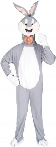 Bugs Bunny™-Lizenzkostüm für Erwachsene Looney Tunes™ grau-weiss