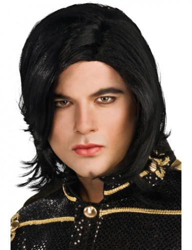Michael Jackson™-Popstar-Perücke schwarz