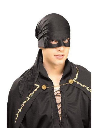 Zorro™-Bandana-Tuch und Halbmaske
