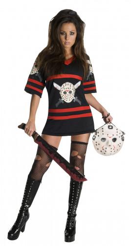 Jason-Kostüm aus Freitag der 13.™ für Damen