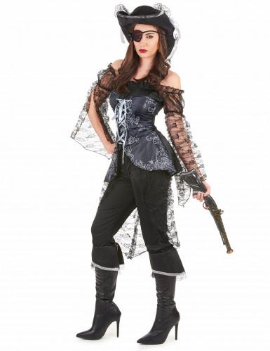 Piratenkapitäns-Kostüm für Damen-1