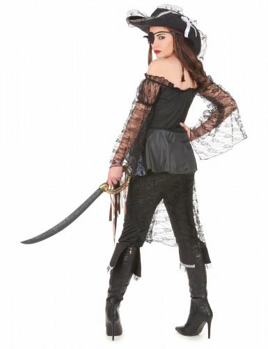 Piratenkapitäns-Kostüm für Damen-2
