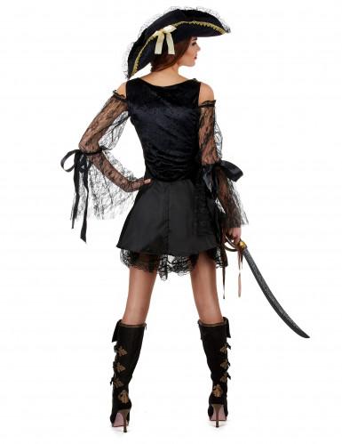Piraten-Kostüm Deluxe für Damen-1