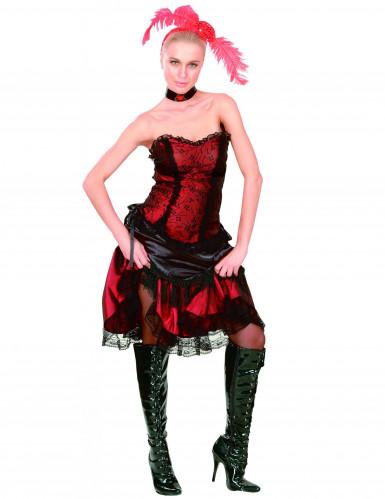 Cabaretkostüm Saloon für Damen