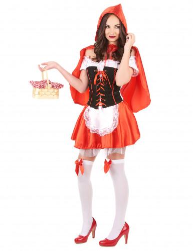 Rotkäppchenkostüm für Damen-1
