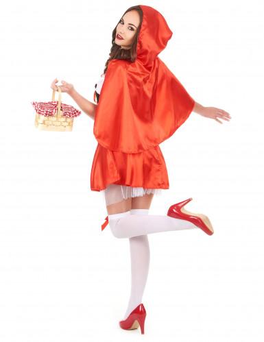 Rotkäppchenkostüm für Damen-2