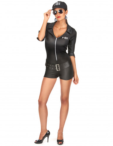 FBI-Kostüm für Damen