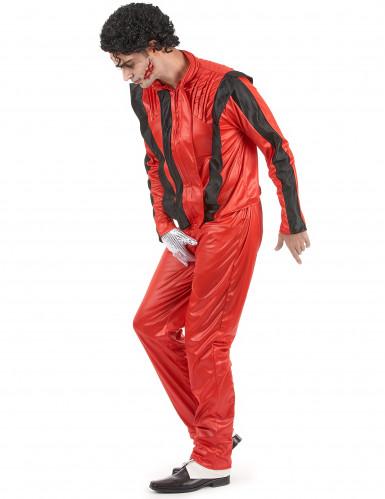 Popstar-Kostüm für Herren rot-1