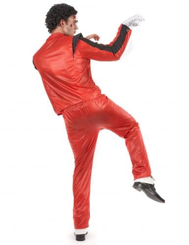 Popstar-Kostüm für Herren rot-2