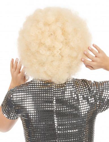 Afro-Perücke blond für Erwachsene-1